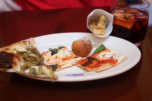 Via Napoli food and drink