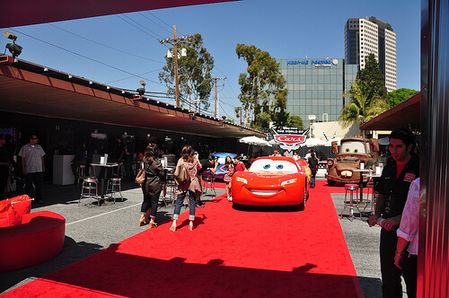 World of Cars Online premiere event