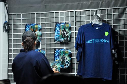 ElecTRONica merchandise