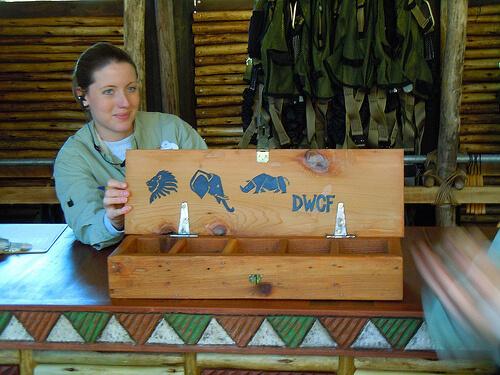 Wild Africa Trek donation choices