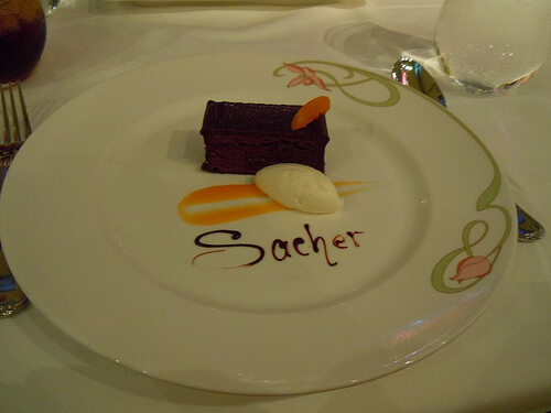 Dessert Sachet - Enchanted Garden