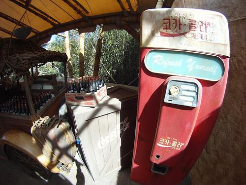 Coke machine in Africa Coolpost