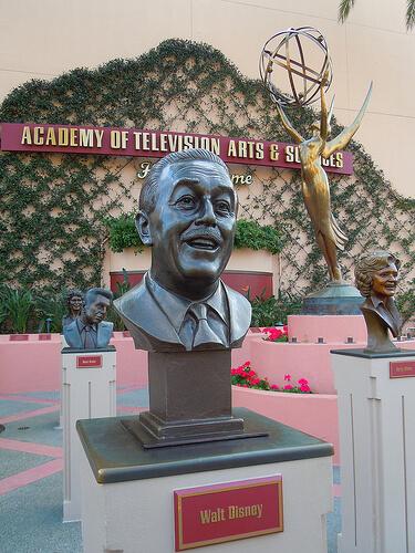 Walt Disney Emmy statue