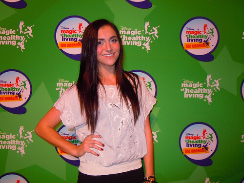 Alyson Stoner - Disney Magic of Healthy Living - The Weekend