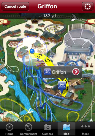 Busch gardens tampa bay launches iphone app with ride wait times gps interactive map for Busch gardens telephone number