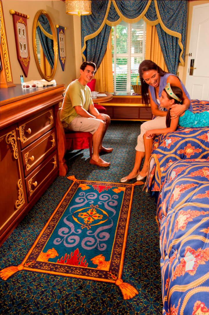 Inside Hotel Room: Inside The New Royal Guest Rooms At The Walt Disney World