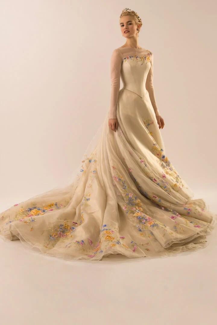 PHOTOS: A closer look at Disney\'s Cinderella Wedding Dress
