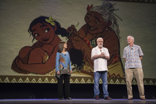 The team presents Gramma Tala at D23 Expo 2015