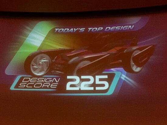 Top Design Score