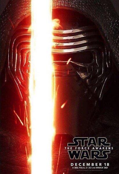 Kylo Ren Force Awakens poster