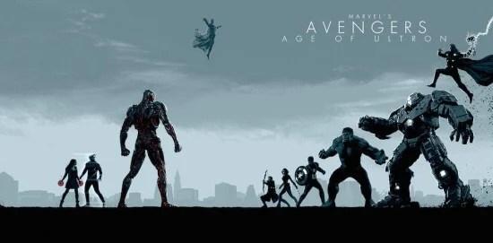 Avengers age of ultron art MCU