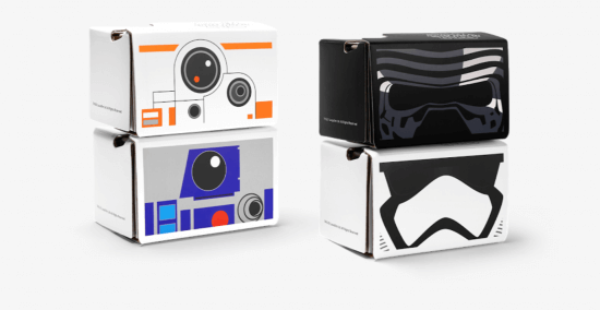 Star Wars Google Cardboard