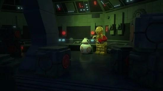 LEGO STAR WARS: THE RESISTANCE RISES BB-8, C-3PO