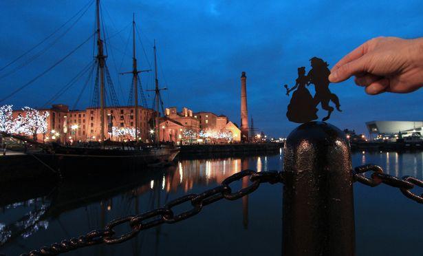 Disney-Characters-Around-th-UK-Liverpool