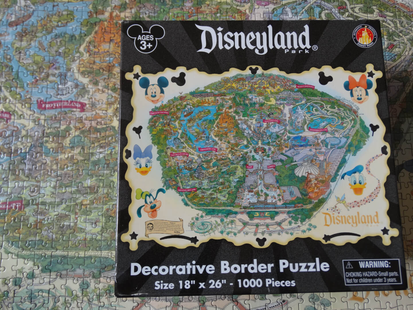 Fav five mikes favorite disneyland souvenirs inside the magic it wasnt very difficult to put together for anyone familiar with the layout of the park but its the perfect item for fans of jigsaw puzzles and gumiabroncs Image collections