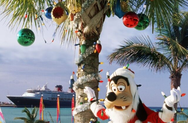 a special holiday edition of the cheerful farewell celebration on the final night of the cruise with beloved disney characters and the ships crew in an - Disney Christmas Cruise