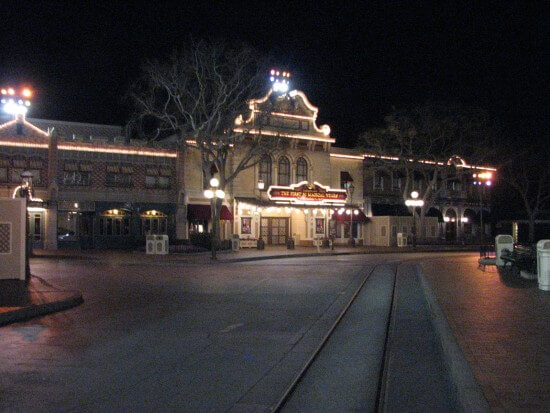 Main Street after hours