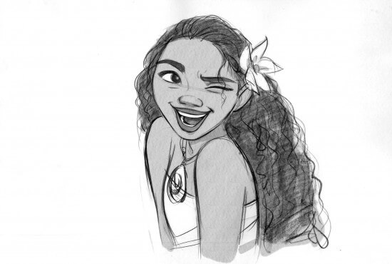 MOANA visual development. Artist: Jin Kim, Visual Development Artist.