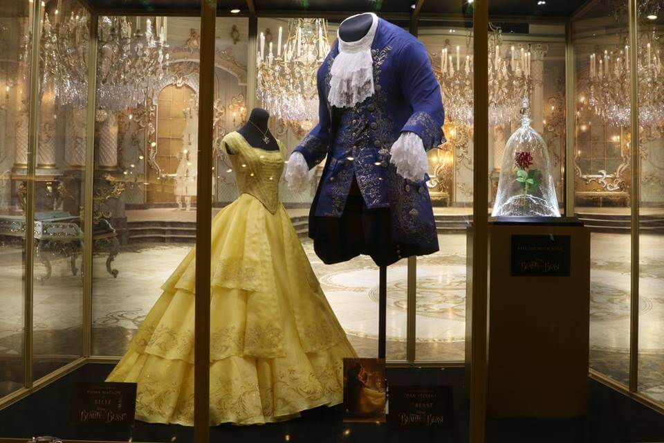 Photos Beauty And The Beast Costume And Prop Displays