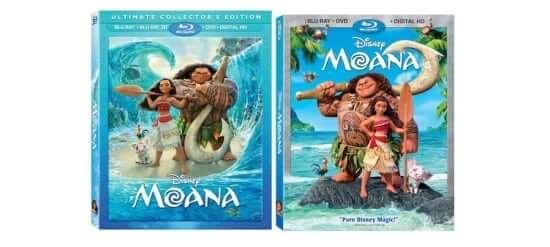 moana dvd