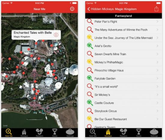 7 super helpful mobile apps that will make your walt disney world the 799 app comes on walt disney world fl and disneyland ca versions and is a great way to enhance your park experience 799 ios and android gumiabroncs Images