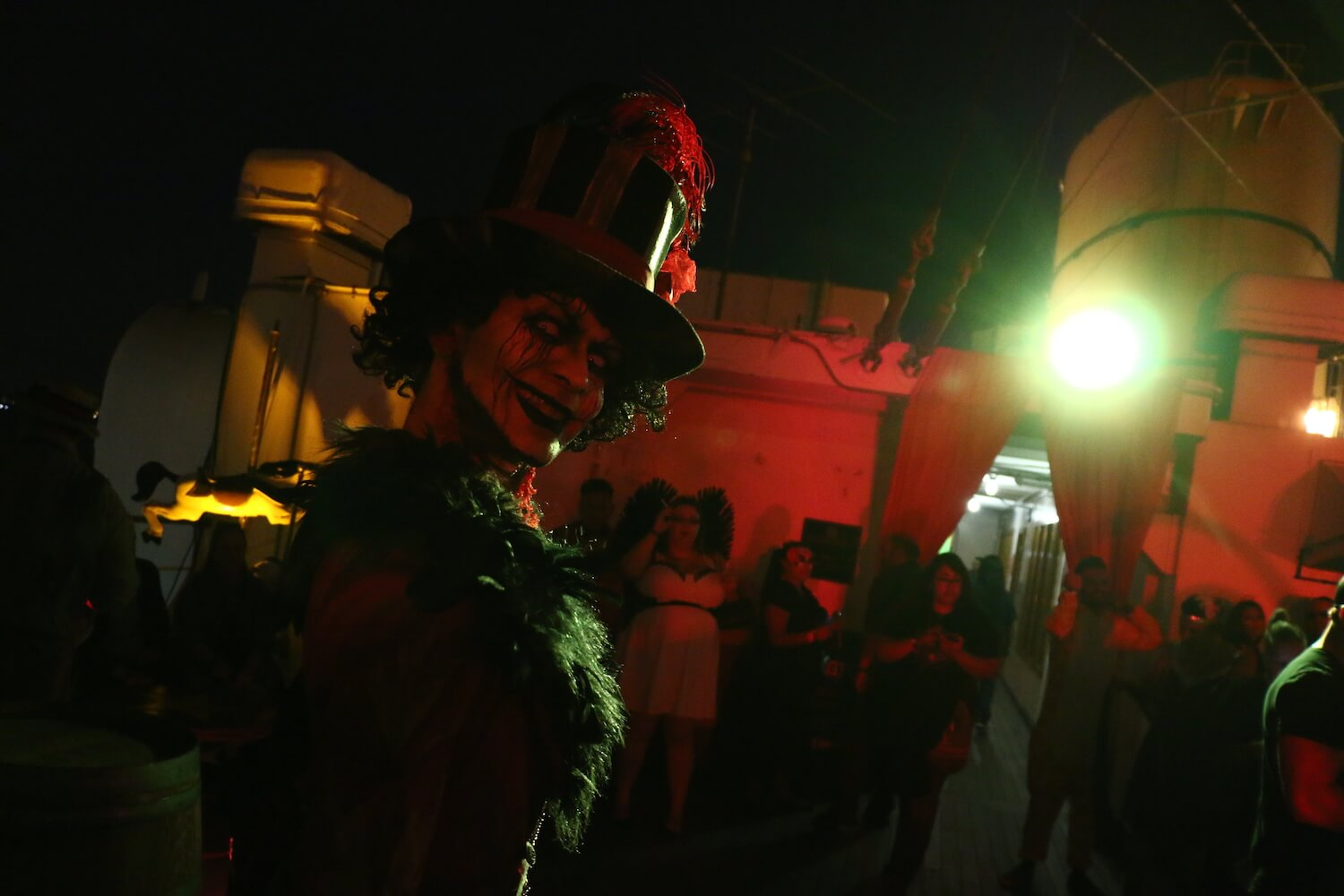 "chef is waiting to serve you in a new ""feast"" haunted maze at queen"