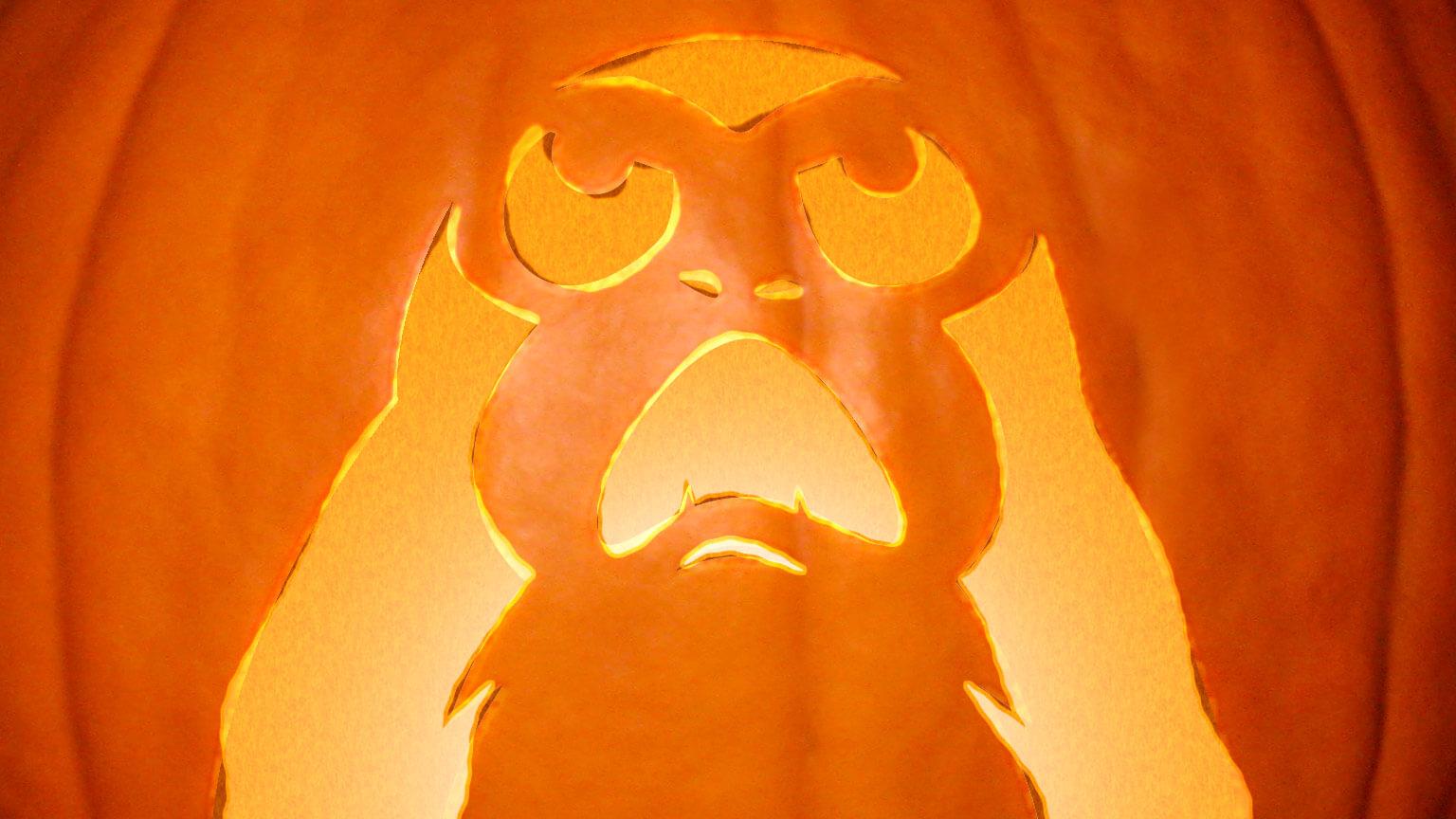Clone Wars Jack O Lantern
