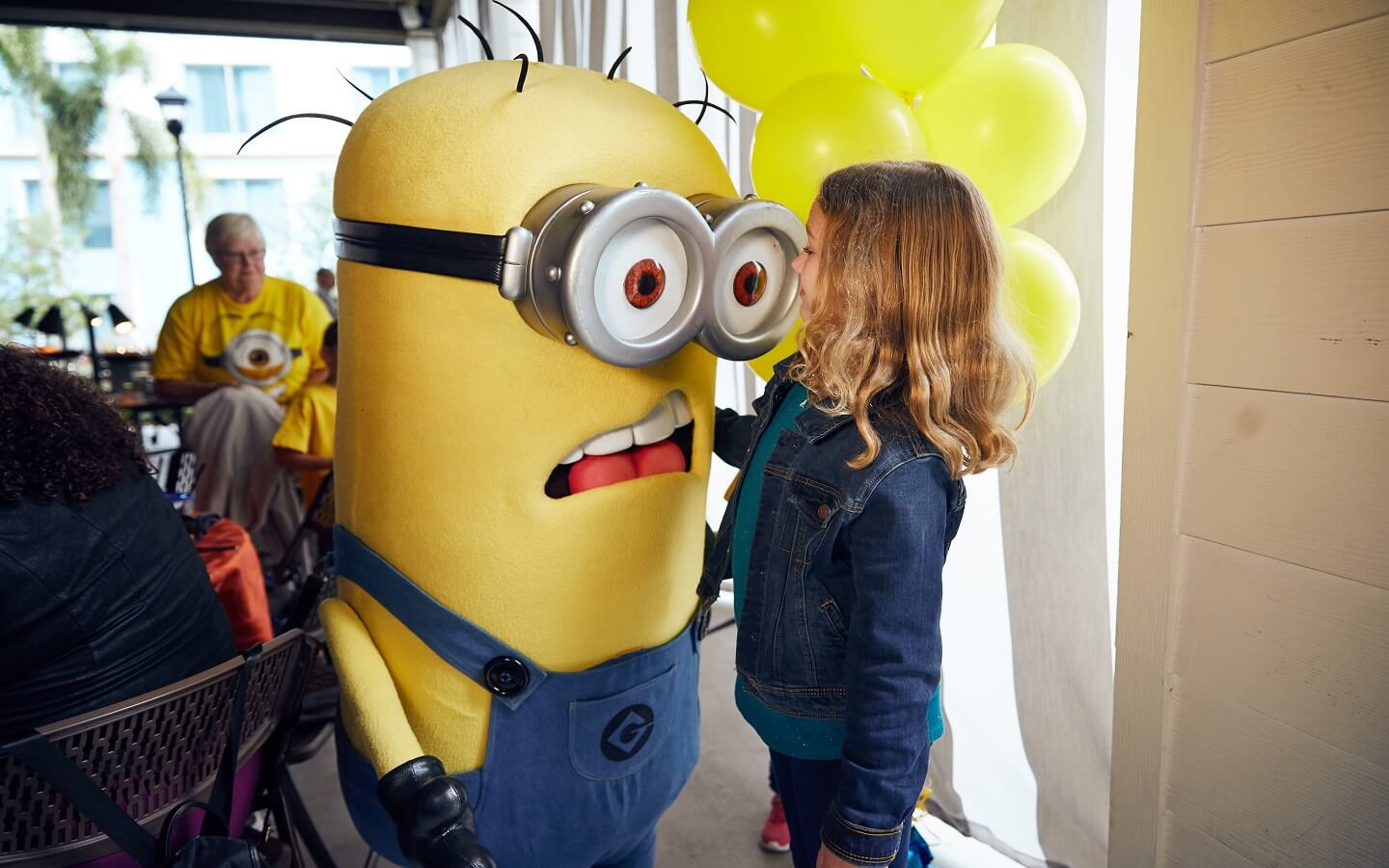Universal orlando offers new despicable me character breakfast at make their way around to each table for a very special meet and greet if you have a banana on your plate you can expect to see some minions show up kristyandbryce Image collections
