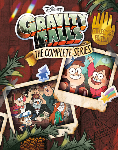 disney s gravity falls complete series blu ray and dvd sets