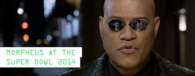 Morpheus in KIA Commercial at Super Bowl 2014