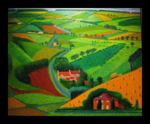 David Hockney Yorkshire Landscape