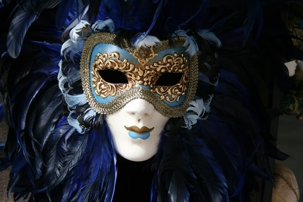 Venetian Mask - from the world's first ghetto in Venice