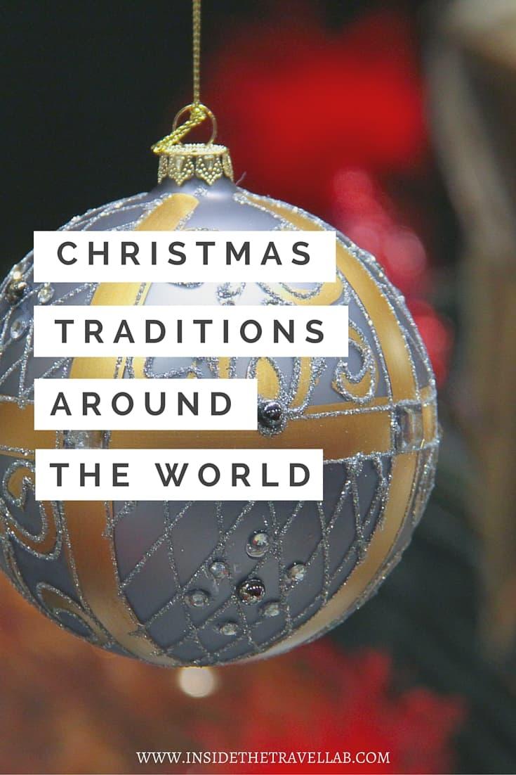 Christmas Traditions Around the World via @insidetravellab