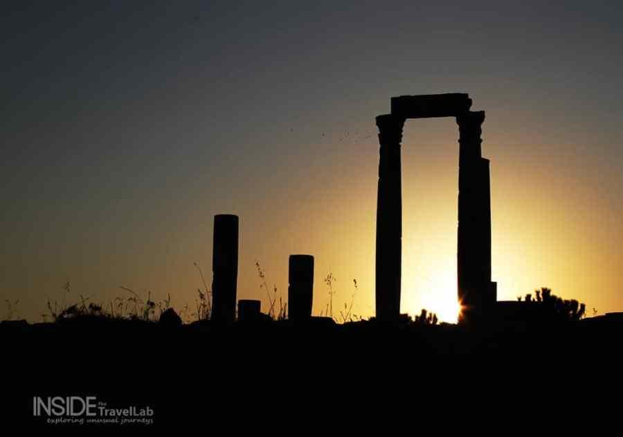 A Beautiful Moment - Amman Citadel
