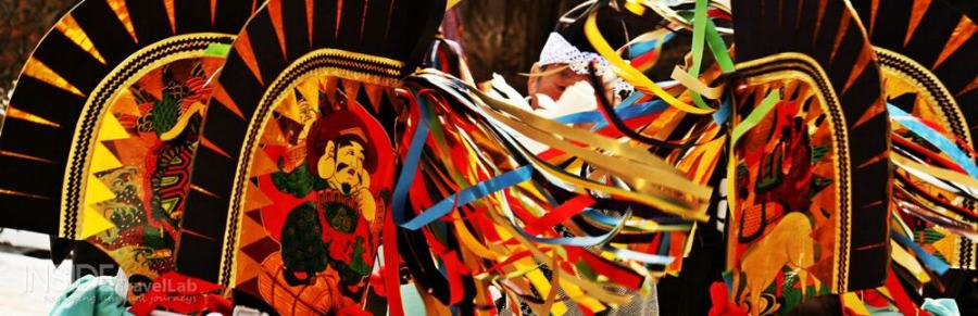Hachinohe Enburi Festival at Kojokaku-slash-Oniwa Enburi winter festival