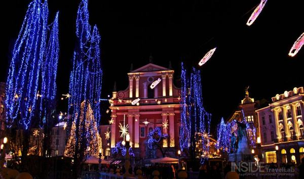 Best Christmas Lights Ljubljana