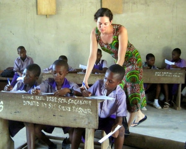 Lillie Marshall - Teaching is a career that involves travel around the world