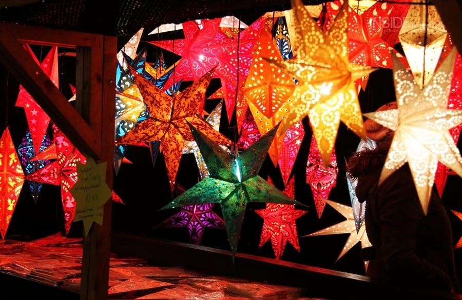 Stars at the Munich Christmas Market