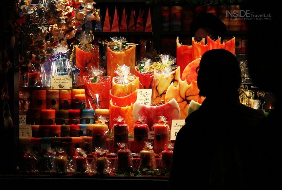 Munich Christmas Market Candles