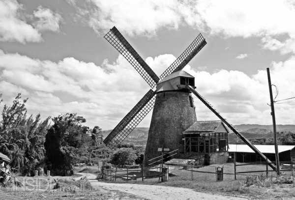 Slavery in Barbados - mill