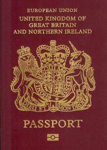 British unicorn passport