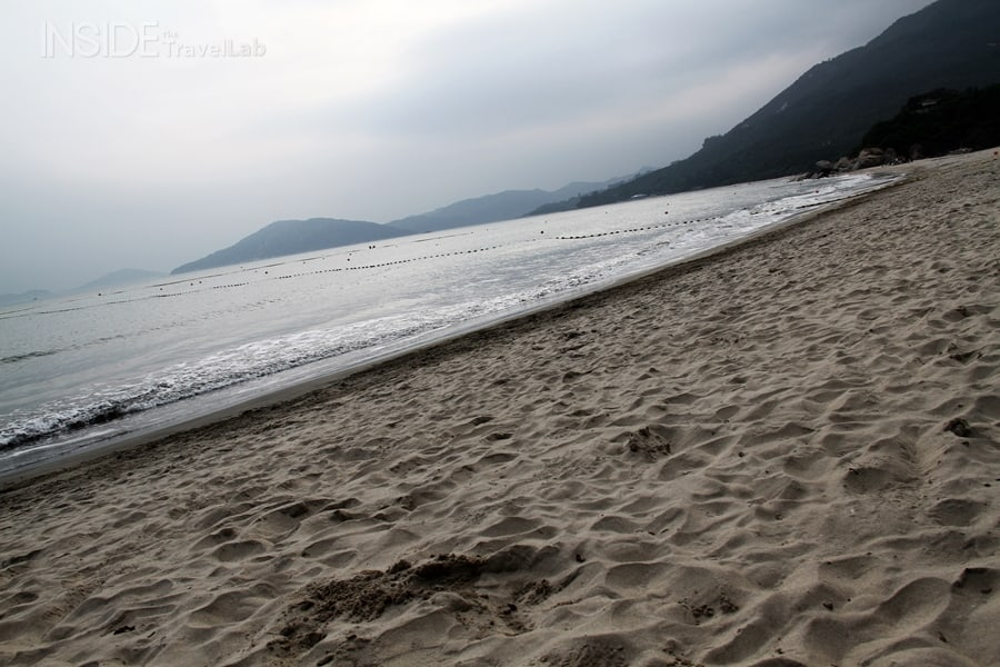 Beach on Lantau Island