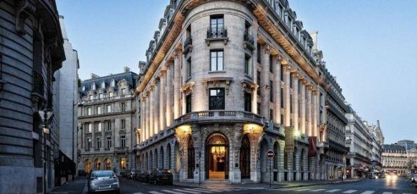 Banke Hotel Exterior Paris