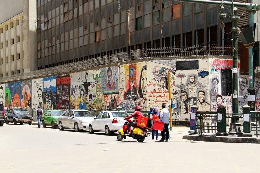 Martyr Paintings Tahrir Square