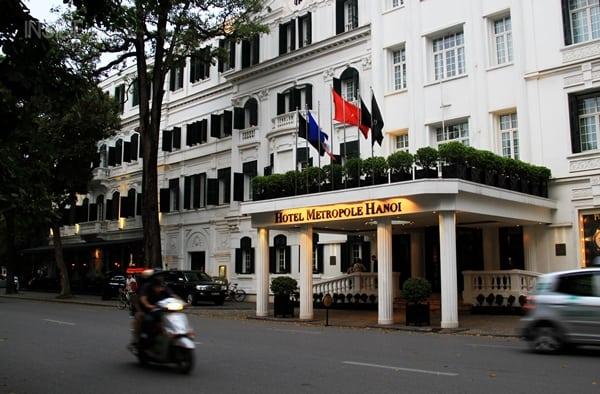 Sofitel Legend Metropole Hotel Hanoi outside