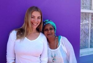 Abi and Fandela in Bo Kaap