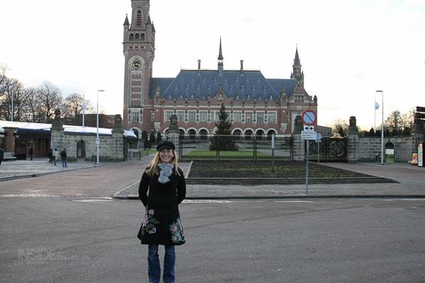Abi at The Hague