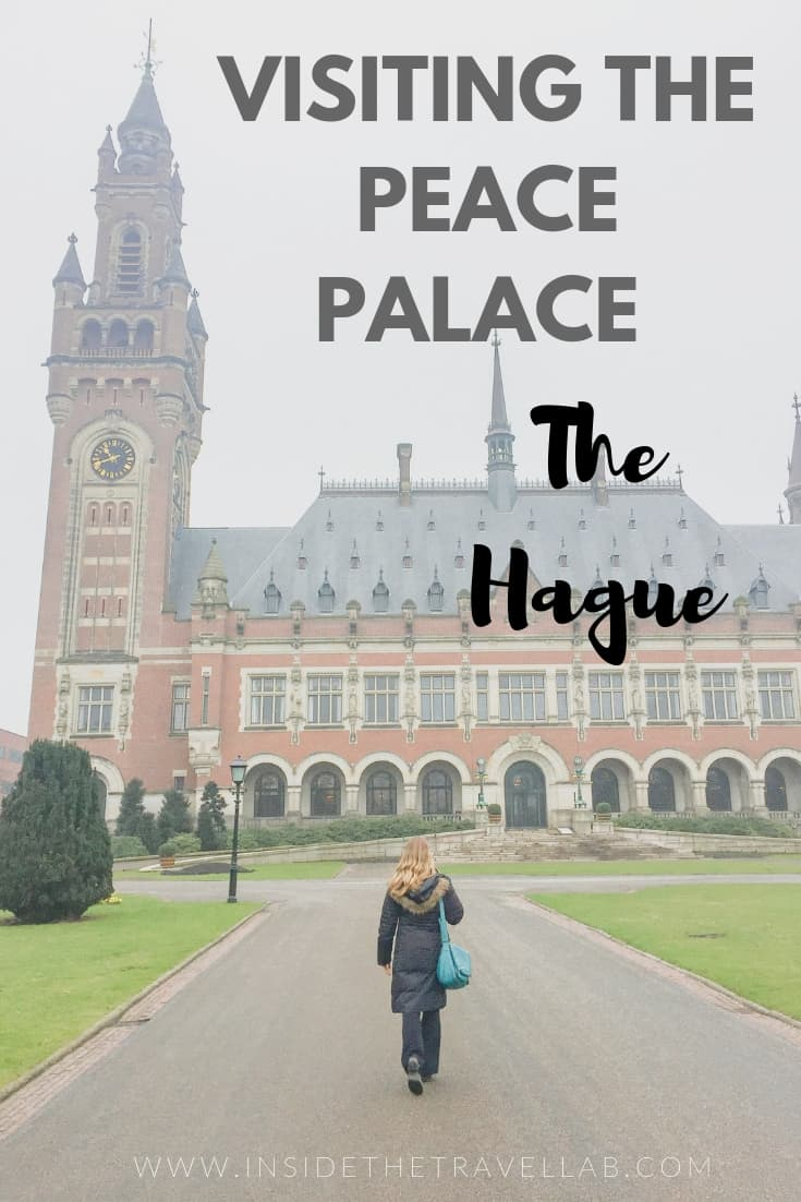 Visiting the Peace Palace in The Hague is an inspirational and meaningful thing to do in the Netherlands. As the highest court in the world with contributions from across the globe, it makes a fascinating stop to think about world peace. #thisisthehague #thehague #netherlands #holland