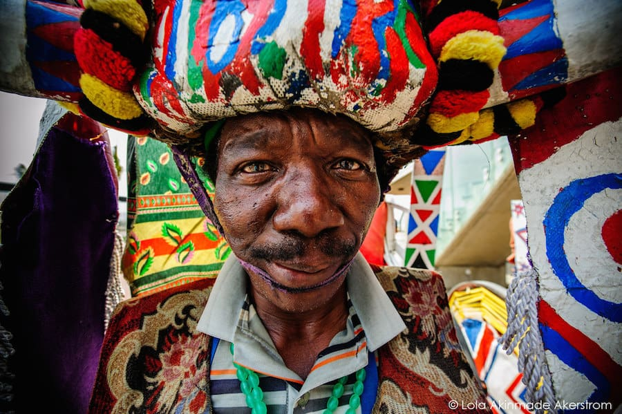 Witch doctor in South Africa by Lola Akinmade