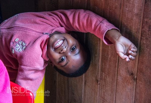 Child in Masi Cape Town